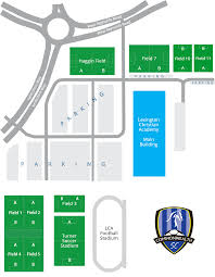 Lexington Sc Map Commonwealth Sc Training And Game Fields