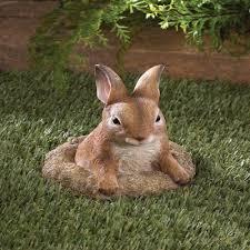 curious bunny statue garden outdoor yard decor curious bunny statue garden outdoor yard decor bunny garden animals