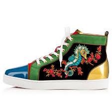 shoes sea horse flat christian louboutin clothing