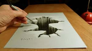 3d pencil drawings step by step best easy 3d pencil drawings