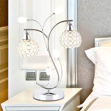 modern table lamps for bedroom elegant to decorate your chic decor