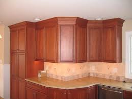 Kitchen Cabinet Moldings And Trim Charming Crown Moulding Ideas For Kitchen Cabinets Photo Design
