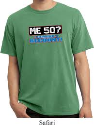 Funny Halloween Tee Shirts by Funny Birthday Shirt Me 50 Pigment Dyed Tee T Shirt Me 50 Mens