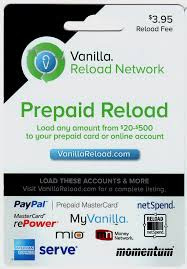 reload prepaid card online how to use vanilla reload cards to load your bluebird card