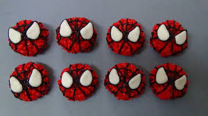 How To Make Spiderman Rice Pops Youtube