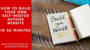 how to build your own self hosted author website in 30 minutes