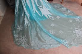elsa from disney u0027s frozen costume walkthrough part 2 snowflakes