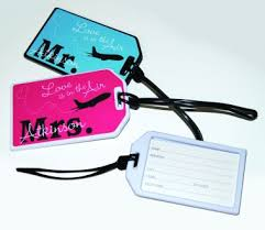 and groom luggage tags sealed with designs bridal party gifts luggage tags