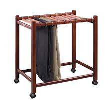 amazon com woodlore compact pant trolley home u0026 kitchen