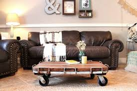 Industrial Style Coffee Table 10 Ways To Build A Beautiful Rustic Coffee Table You U0027ll Love