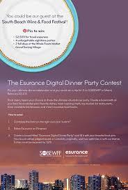 45 best esurance digital dinner party images on pinterest dinner