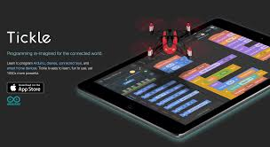 tickle program drones sphero arduino from this ipad app