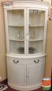antique white corner cabinet white corner china cabinet foter attractive for 10 steeltownjazz
