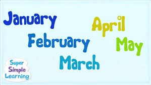 the months chant super simple songs youtube
