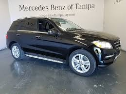 mercedes m suv used 2015 mercedes m class ml 350 for sale ta fl stock