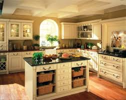farmhouse kitchen decorating ideas wall mounted glass door cabinets white color for small spaces