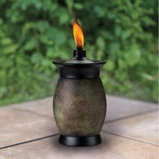 deck tiki torches decorative torches wayfair