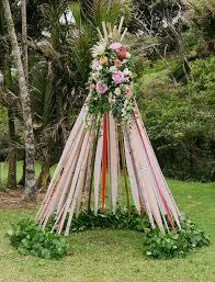 wedding arches nz colorful new zealand c wedding shane