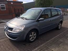 renault megane scenic 1 5 dci 7 seater 6 speed manual 12 months
