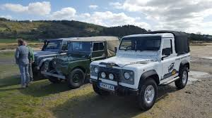 land rover vintage celebrities inc ben fogle and hugh fearnley whittingstall john