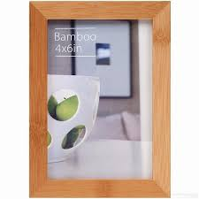 photo albums 4x6 contemporary bamboo stain 4x6 frame by ecocare picture