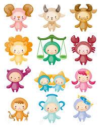 zodiac clipart cute pencil and in color zodiac clipart cute