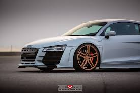 audi r8 gold hamana audi r8 v10 on gold vossen wheels front wheel sssupersports