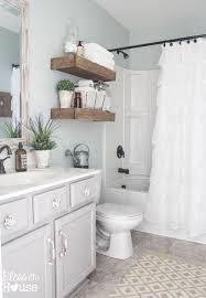 sherwin williams sea salt in an updated bathroom with gray vanity