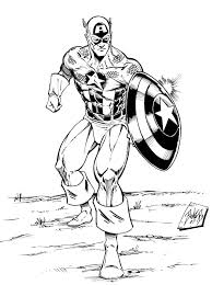 Captain America Coloring Pages Avengers Coloring Pages 3 Captain America Coloring Page