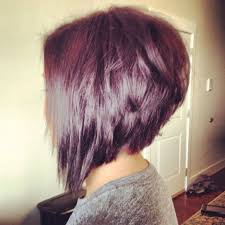 medium length hair styles shorter in he back longer in the front short haircut styles short aline haircuts stacked hairstyles