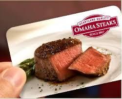 omaha steaks gift card best 25 omaha steaks ideas on