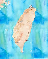 Map Of Taiwan Biking Around Taiwan A Do It Yourself Guide