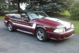 1988 gt mustang cabernet 1988 ford mustang gt convertible mustangattitude