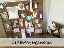 wedding gift diy wedding gift countdown a thoughtful gift from my bridesmaids
