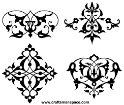 free typographic ornaments vector 123freevectors
