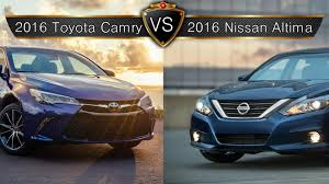 nissan altima limited 2016 2016 nissan altima vs toyota camry by the numbers youtube