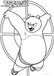 printable kung fu panda coloring pages womanmate com