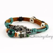 anchor wrap bracelet images Cross elephant anchor wholesale leather wrap bracelets best friend jpg