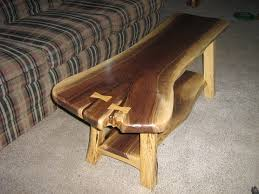 Rustic Walnut Coffee Table Rustic Walnut Sofa Coffee Table Woodworking Talk Woodworkers Forum