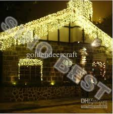 Outdoor Garland With Lights by Cheap Waterproof Outdoor 512 Led Icicle Lights For Garden