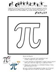 pi day activity for middle and high flip book