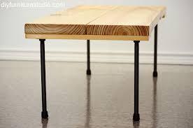 Diy End Grain End Table Coffee Table Diy Furniture Studio