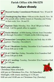 ihm save these dates immaculate of in new melle