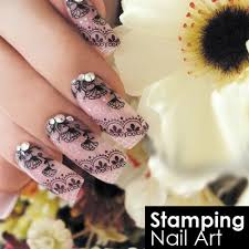 blink stamping nail art stamping nail art by diva cresent all