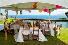 hawaiian theme wedding wedding reception decorations honolulu wedding ceremony reception