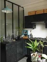 cuisine repeinte en noir transformer une cuisine en noir style industriel atelier déco des