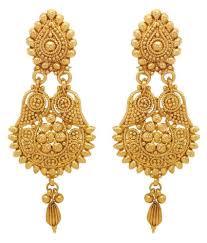 golden earrings donna golden earrings set of 2 buy donna golden earrings set