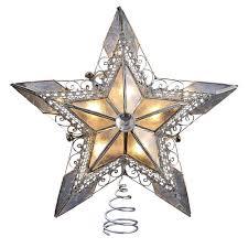 christmas stars silver tree toppers christmas wikii