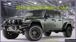 2018 jeep wrangler pickup truck colors release date redesign