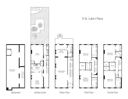 new york brownstone floor plans modify for california by putting